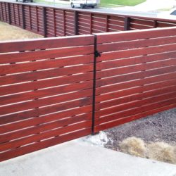 Modern Horizontal Wood Fences in the Los Angeles Area?  We've Built Plenty, Just Call Me @ 310-717-2000